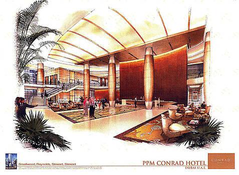 CONRAD Hotel Dubai by Jack Adams