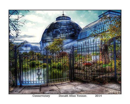 Conservatory by Donald Yenson