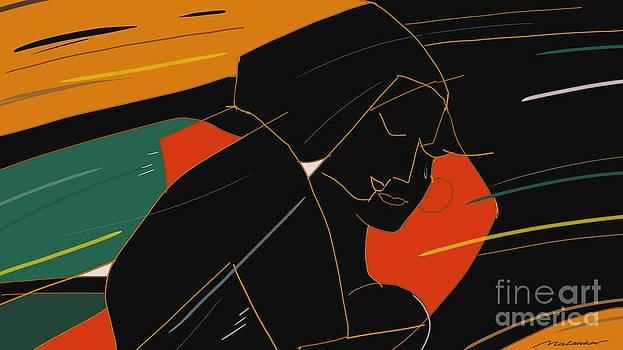 Consoling by Vilas Malankar