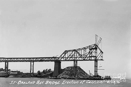 California Views Mr Pat Hathaway Archives - Construction of the Eastern Span San Francisco Oakland Bay Bridge June 29 1930