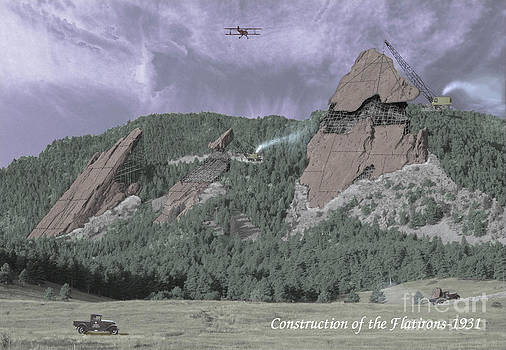 Jerry McElroy - Construction of the Flatirons - 1931