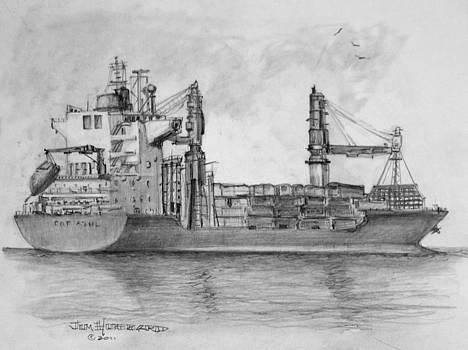 Jim Hubbard - Container Ship