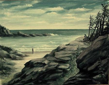 Contemplating the Cove by Thomas Hinkle
