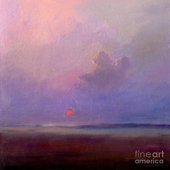 Svetlana Novikova - Contemplation at Sunset