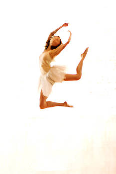 Conteporay Dancer Jumping by Philip Payne