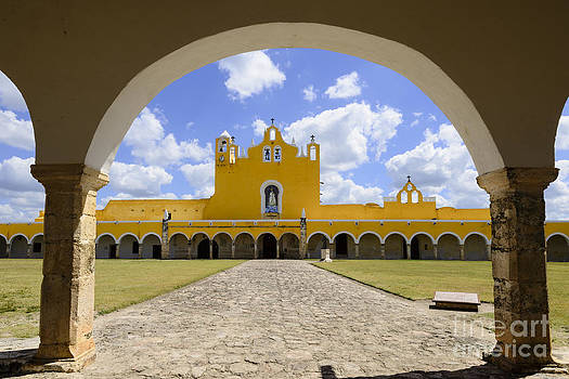 Oscar Gutierrez - Convent in the city of Izamal Mexico