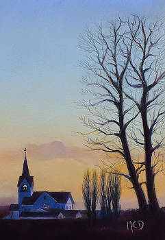 Conway Evening by Marie-Claire Dole