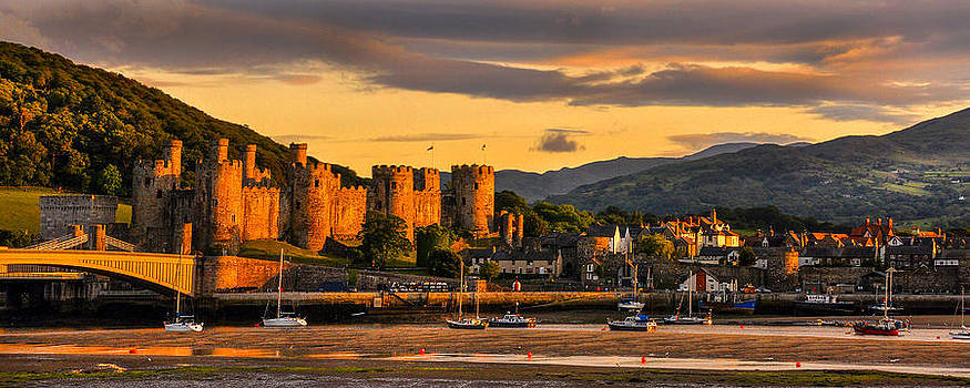 Conwy Castle by Regie Marshall