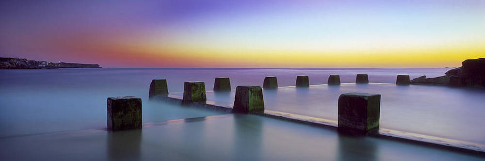 Coogee Baths Australia by Mike Banks