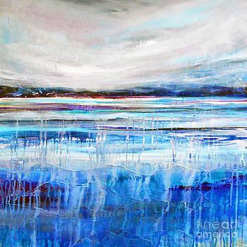Cool Blue Landcape by Tracy-Ann Marrison