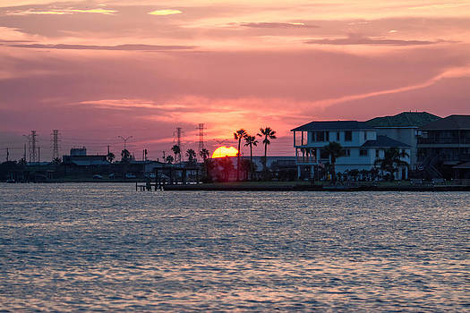Cool Galveston Sunset by Jason Brow