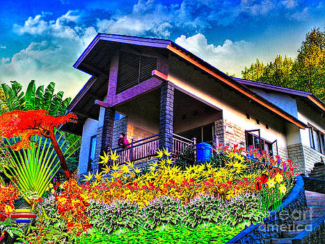 Cool Villa in Malang by Vidka Art