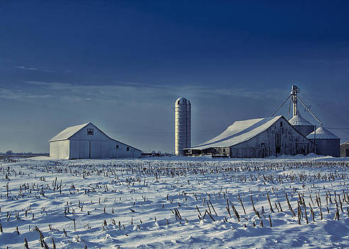 Cool Winter Barn by Bailey and Huddleston