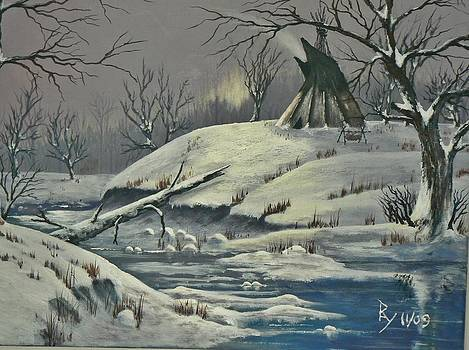 Cool Winter Eve by Ray Nutaitis