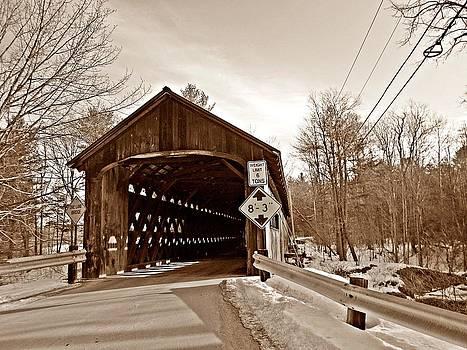 MTBobbins Photography - Coombs Bridge Sepia