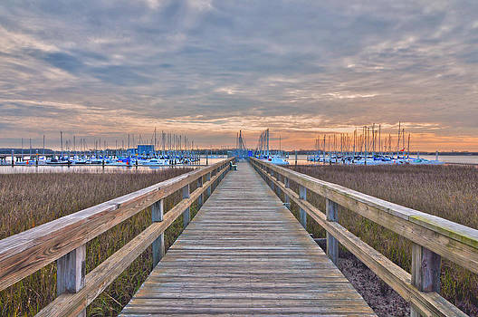 Cooper River Marina by Donnie Smith