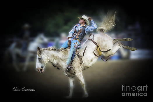 Cooper Rodeo Bronc Rider by Char Doonan