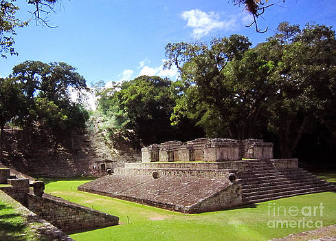 Copan Ball Court by Shelly Leitheiser