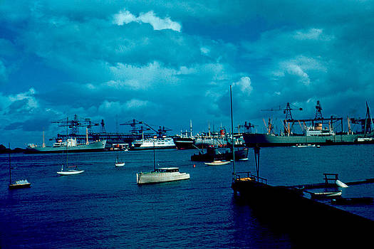 Copenhagen Harbor 1953 by Cumberland Warden
