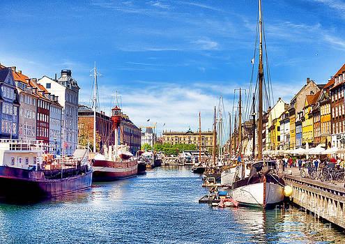 Copenhagen Harbour by Lankanion Photography