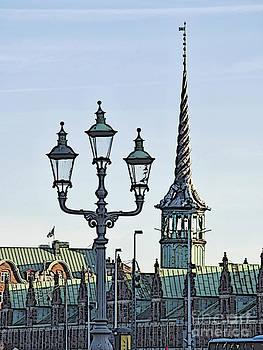 Copenhagen silhouette by Wedigo Ferchland