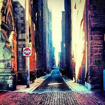 #copleysq #alley by James Hamilton