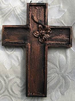 Copper Cross by Paula Peltier