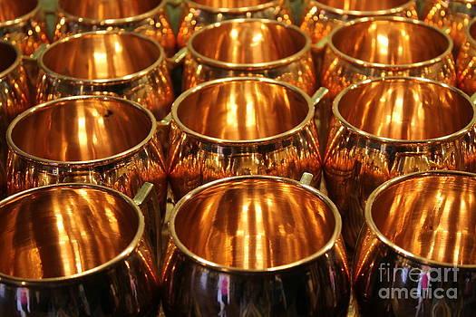 Copper Cups by Keri West