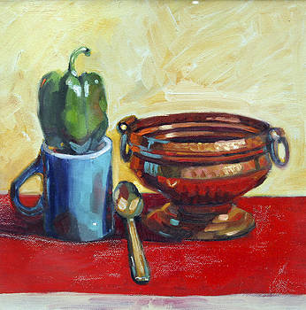 Copper Jar by Sangeeta Takalkar