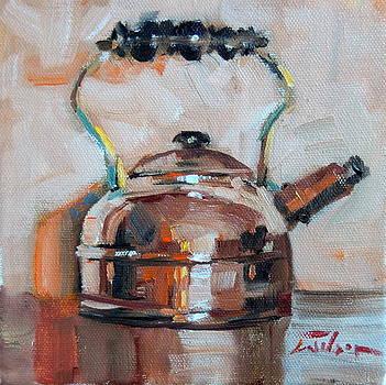 Copper Kettle by Ron Wilson