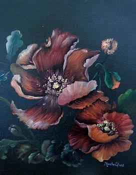Copper Poppies by Martha Efurd