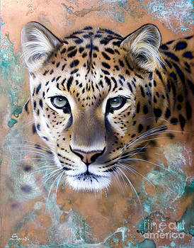 Copper Stealth - Leopard by Sandi Baker