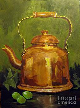 Copper Teakettle by Carol Hart