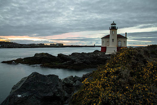 John Daly - Coquille River Lighthouse Landscape