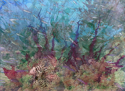 Coral and the Lionfish  by Megan Nicole McKinney