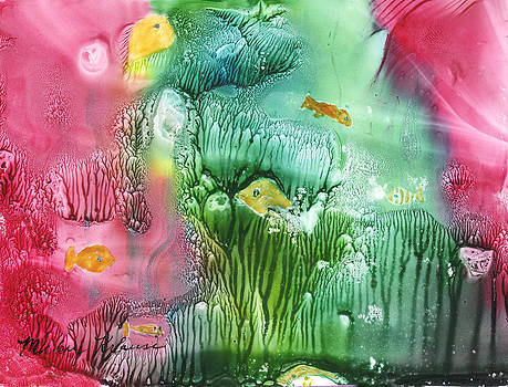 Coral Fishies by Mickey Krause
