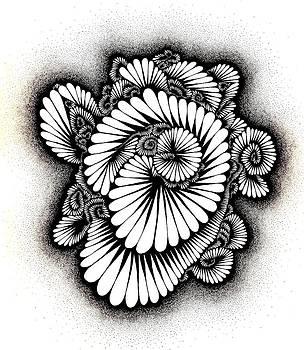Coral Burst by Gabe Art Inc