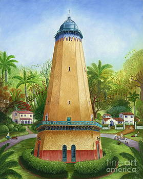 Coral Gables Water Tower by Colette Raker