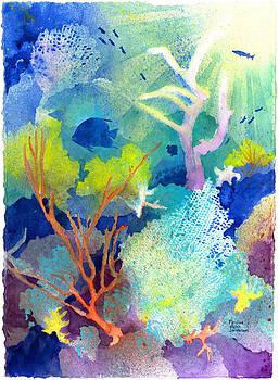 Coral Reef Dreams 1 by Pauline Jacobson