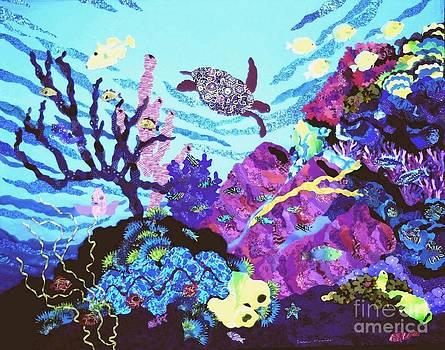 Coral Reef Garden by Susan Minier