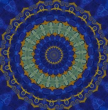 Coral Sea Mandala by Chris Keenan