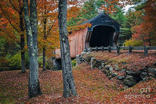 Edward Fielding - Corbin Covered Bridge Newport New Hampshire