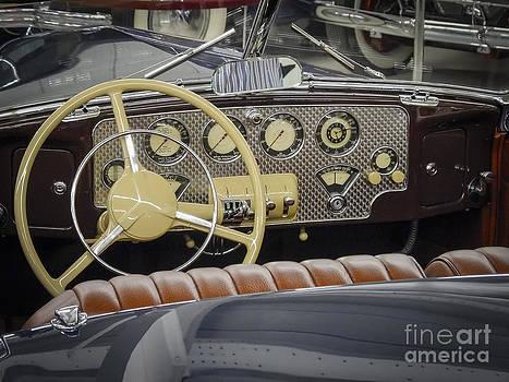 Cord 812 Convertible Coupe by David Pettit