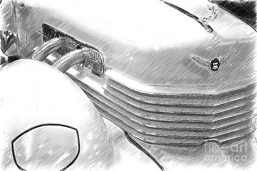 Heiko Koehrer-Wagner - Cord 812 Oldtimer from 1937 Sketch