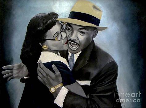 Coretta and Martin by Chelle Brantley