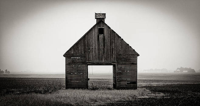 Corn Crib #2 by James Howe