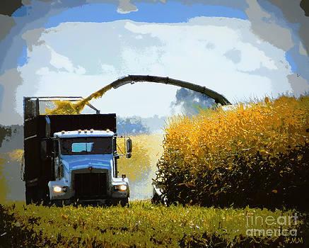 Corn Harvest by Heidi Manly