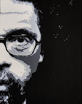 Cornell West by Ray Johnson