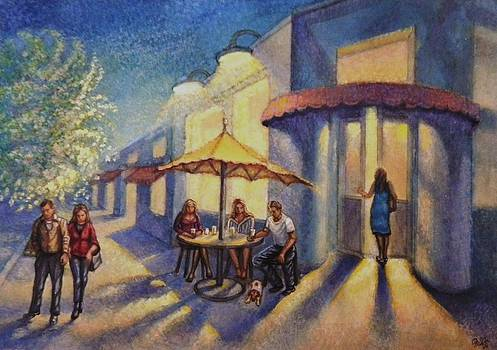Corner Cafe by Raffi Jacobian