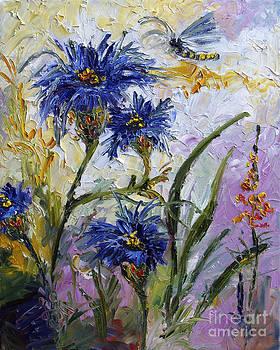 Ginette Callaway - Cornflowers Provence